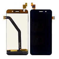 Jiayu G4s black, LCD, модуль, дисплей с сенсором