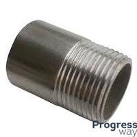 Резьба короткая стальная  3/4 дюйма