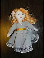 Текстильная интерьерная кукла, авторская, ручной работы. Прекрасный подарок на 8 марта