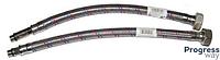Шланг для смесителя пара (длина носа 10 см) в нерж. оплётке  Санди Флекс пара 500 мм М-10 пара