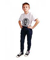 Утепленные спортивные брюки для мальчика