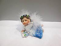 Подарочная статуэтка для ребёнка Ангел с книгой