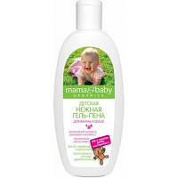 Детская нежная гель-пена для ванны и душа Mama&Baby Organics