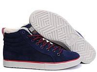 Мужские зимние кроссовки Adidas Ransom Fur Navy