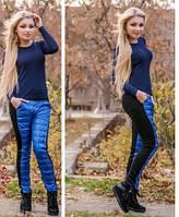 Утепленные  женские спортивные штаны