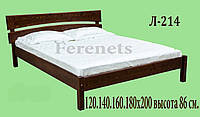 Кровать из дерева Л-214 купить в Одессе