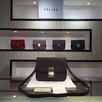 Сумка женская Celine Classic Box, кожа, Франция, оригинал