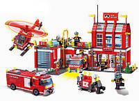 """""""Пожарная часть и техника"""" 980 деталей Brick 911"""