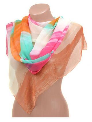 Женский красочный шарф 50 на 160 см 10122-K5