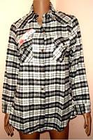 Блуза - рубашка теплая размер XXL-XXXL