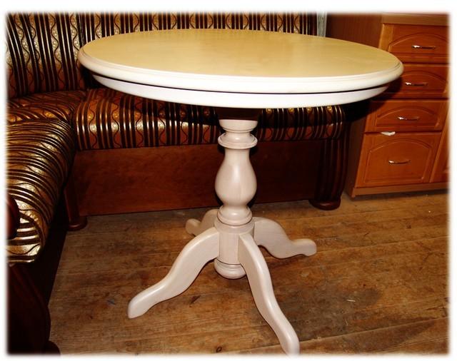 Круглый раздвижной стол как сделать