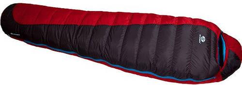 Прочный спальный мешок Sir Joseph Erratic plus II 850/190/-12°C Red/Blue (Right) 922283 красный