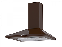 Вытяжка кухонная Borgio Delta+ 50 см (коричневый)
