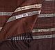 Коричневый двусторонний женский шерстяной палантин 172 на 70 см ETERNO (ЭТЕРНО) ES0406-8-10, фото 2