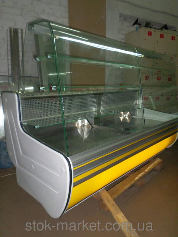 Витрина кондитерская напольная Cold C-20G б/у (упаковка, разборка, отправка)