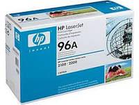 HP 96A, Оригинальный лазерный картридж HP LaserJet, Черный(C4096A)