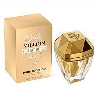 Туалетная вода для женщин Paco Rabanne Lady Million Eau My Gold 80мл