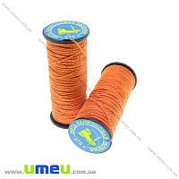 Нить капроновая (обувная) 375 т, Оранжевая, 30 м (MUL-013964)