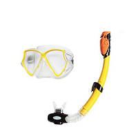 Набор для плавания - очки, трубка и ласты