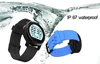 Спортивные умные часы Makibes F68 с пульсометром, шагомером, вибробудильник, трекер сна. Защита IP67