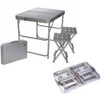 Стол и 2 стула, комплект кемпинговый туристический TA-200