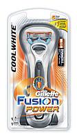 Gillette Fusion Power Cool White бритва со сменной кассетой