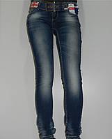 Узкие женские джинсы Richone 541-261 голубые весна Турция рр.25, 29