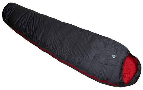 Пуховый спальный мешок Sir Joseph Rimo II 850/190/-11.6°C Grey/Red (Right) 922302 серый