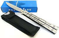Нож бабочка, балисонг Benchmade 42 с узором