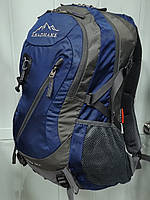 Легкий туристический рюкзак LEADHAKE S 1004 с каркасом и чехлом