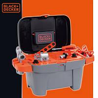 Детский набор инструментов в ящике Black&Decker Smoby 360100