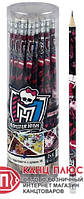 "Kite Карандаши графитные с резинкой ""Monster High"" 36 шт в тубе арт. MH14-056K"