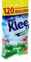 Универсальный стиральный порошок Klee 10 кг 120 стирок Германия