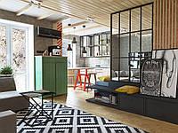Дизайн интерьера в стиле лофт и эко-минимализм
