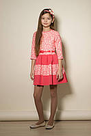 Нарядное платье для девочки подростка, размеры 30, 32, 34, 36, 38, 40. (арт.ПЛ66)