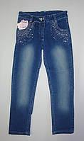 Гламурные джинсы для девочки  5-8 лет
