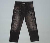 Гламурные джинсы для девочки 1-4 года