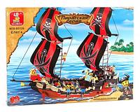 Конструктор детский SLUBAN 619934/M38B0129 -Пиратская серия, корабль
