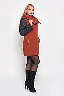 Женское кашемировое  пальто средней длины  Letta