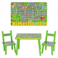 """Детский набор столик и стульчики """"Правила Дорожного Движения"""""""