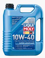Полусинтетическое моторное масло Liqui maly (Ликви моли) Super Leichtlauf SAE 10W-40 4л.
