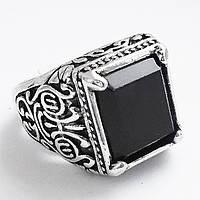 Мужское кольцо перстень (вставка под опал). Размеры 18, 19, 20.