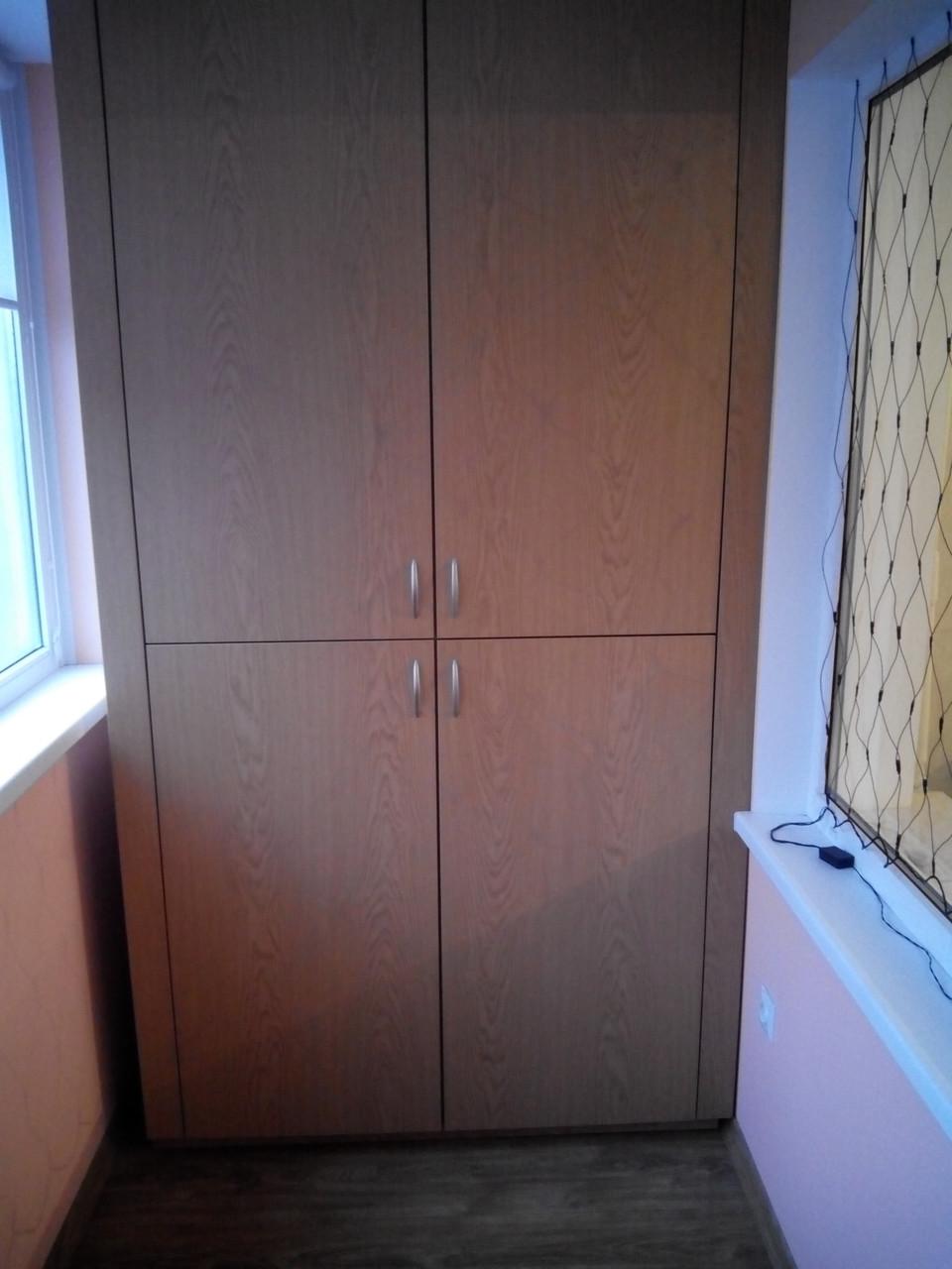 Шкафы на балкон,лоджии., цена 4 000 грн., купить в запорожье.