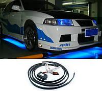 Светодиодная подсветка днища автомобиля 2 полосы - 120 см | 2 полосы - 90 см