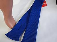 Гетры женские вязанные .Размер 40 см. Цвет синий.