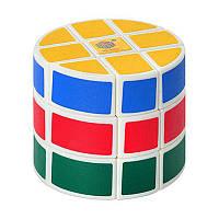 Головоломка Кубик Рубика, цилиндр, 6,5x6,5x6,5 см.