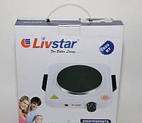 Электроплитка Livstar. 1000 Вт. Быстрый нагрев. Высокое качество.