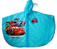 Дождевик для мальчиков пончо VOMBATO Cars
