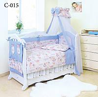 Детская постель Twins Comfort (8 элем.) С-015