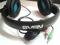 Мультимедийные стереонаушники SVEN AP-680MV  с микрофоном, цвет-чёрный